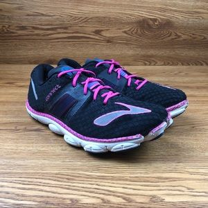 Brooks Pure Connect Black Minimalist Running Shoes
